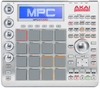 Akai MPC Studio Slimline USB MPC Controller with Software and Samples (Silver)