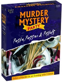 Murder Mystery Party - Pasta, Passion & Pistols (Party Game) - Cover