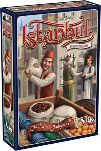 Istanbul Expansion Mocha and Baksheesh Board Game - Cover