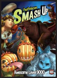 Smash Up - Awesome Level 9000 Expansion (Card Game) - Cover