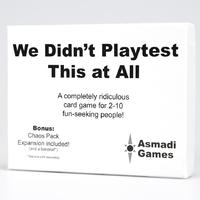 We Didn't Playtest This At All (Party Game)
