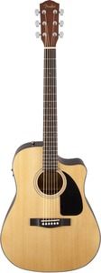 Fender CD-60CE Dreadnought Acoustic Electric Guitar (Natural)