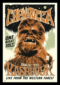 Star Wars - Chewbacca (Framed Poster) - Cover