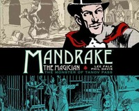Mandrake the Magician The Dailies 1 - Lee Falk (Hardcover) - Cover