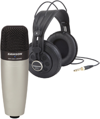 Samson C01 Condenser Microphone and SR850 Headphone Pack - Cover