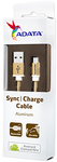 ADATA - 1m Micro USB Sync Charge Cable - Gold
