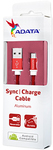 ADATA - 1m Micro USB Sync Charge Cable - Red
