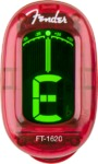 Fender FT-1620 California Series Clip On Instrument Tuner (Red)