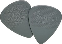 Fender Nylon Grey 0.88mm Pick - Cover