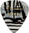 Fender 351 Shape Graphic Zebra Medium Pick (Zebra)