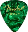 Fender 351 Shape Premium Green Moto Heavy Pick