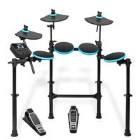 Alesis DM Lite Kit Electronic Drum Kit with Portable Folding Rack (Black)