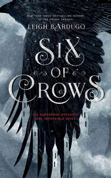 Image result for six of crows cover""