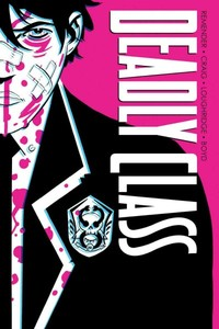 Deadly Class Deluxe Edition - Rick Remender (Hardcover) - Cover