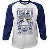 Pink Floyd Carnegie Hall Poster Baseball Raglan Long Sleeve T-Shirt (XX-Large)