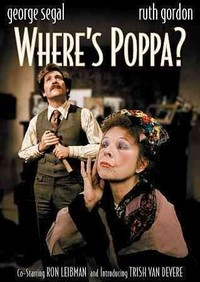 Where's Poppa (Region 1 DVD) - Cover