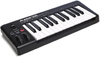 Alesis Q25 25-Key USB MIDI Keyboard Controller (Black)