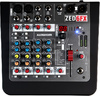 Allen & Heath ZED-6FX ZED Series 6 Channel Compact Analogue Mixer with Effects (Black)