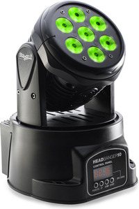 Stagg LED Wash 70w Moving Head Stage Light (Black) - Cover