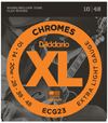 D'Addario ECG23 10-48 Chromes Flat Wound Extra Light Electric Guitar Strings