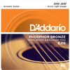 D'Addario EJ15 10-47 Phosphor Bronze Extra Light Acoustic Guitar Strings