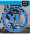 D'Addario EJ21 12-52 Nickel Wound Jazz Light Electric Guitar Strings