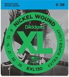 D'Addario EXL130 8-38 Nickel Wound Extra Super Light Electric Guitar Strings