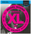 D'Addario EXL170-5 40-130 Nickel Wound Bass Regular Light Long Scale 5 String Bass Guitar Strings