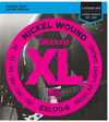 D'Addario EXL170-6 32-130 Nickel Wound Bass Regular Light Long Scale 6 String Bass Guitar Strings