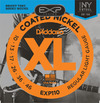 D'Addario EXP110 10-46 Coated Nickel Wound Light Electric Guitar Strings