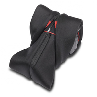 Miggo Padded Camera Strap and Wrap For SLR Black & Red - Cover