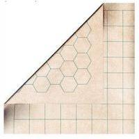 Chessex - Reversible Battlemat - 1.5 inch Squares / Hexes