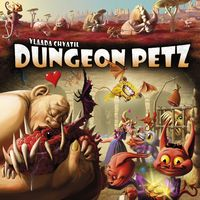 Dungeon Petz (Board Game) - Cover