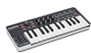 Samson Graphite M25 Mini USB MIDI Keyboard Controller – 25 Key (Black)