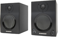 Samson Media One 4A BT 40 watts Active Studio Monitors with Bluetooth (Black) - Cover