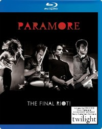 Paramore - The Final Riot! (Blu-ray) - Cover