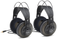 Samson SR850 Professional Studio Reference Headphones (Pack of 2 Pairs) - Cover