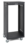 Samson SRK21 21U 19 Inch Equipment Rack with Casters (Black)