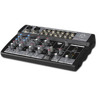 Wharfedale Connect 1002FX/USB Connect Series 10 Channel USB Mixer (Black)