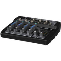 Wharfedale Connect 802 USB Connect Series 6 Channel USB Mixer (Black)