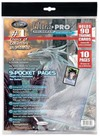 Ultra Pro - 9-Pocket Pages 11 Hole Refill Pack (10 Pages)