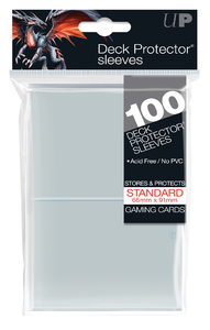 Ultra Pro - Standard Sleeves - Clear (100 Sleeves) - Cover