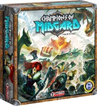 Champions of Midgard (Board Game) - Cover