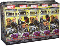 Marvel HeroClix - Nick Fury: Agent of Shield Booster Brick (10 Boosters) (Miniatures) - Cover