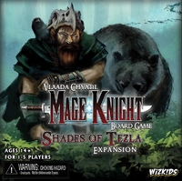Mage Knight: Shades of Tezla Expansion Set (Board Game) - Cover