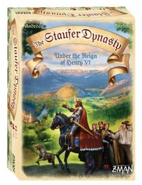 The Staufer Dynasty - Cover