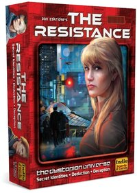 The Resistance (Party Game) - Cover