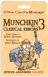 Munchkin 3: Clerical Errors (Card Game)