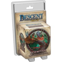 Descent: Journeys in the Dark (Second Edition) - Lieutenant Pack - Kyndrithul Lieutenant Miniature (Board Game) - Cover