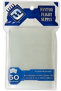 Fantasy Flight Games Ultra Proply Clear Sleeves - Standard Card Game (50 Sleeves) - Cover